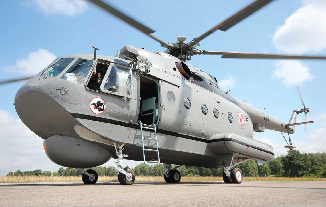 Niezastapione nad morzem Smiglowce Mi-14 w Lotnictwie Marynarki Wojennej