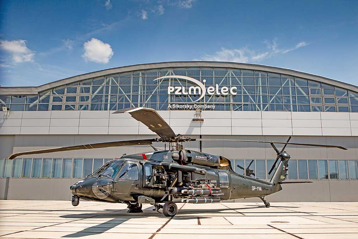 """Mielecki S-70i wkonfiguracji """"na bogato"""", czy podobnie beda wygladac maszyny dla 7. eskadry dzialan specjalnych, oto pytanie na przyszlosc."""