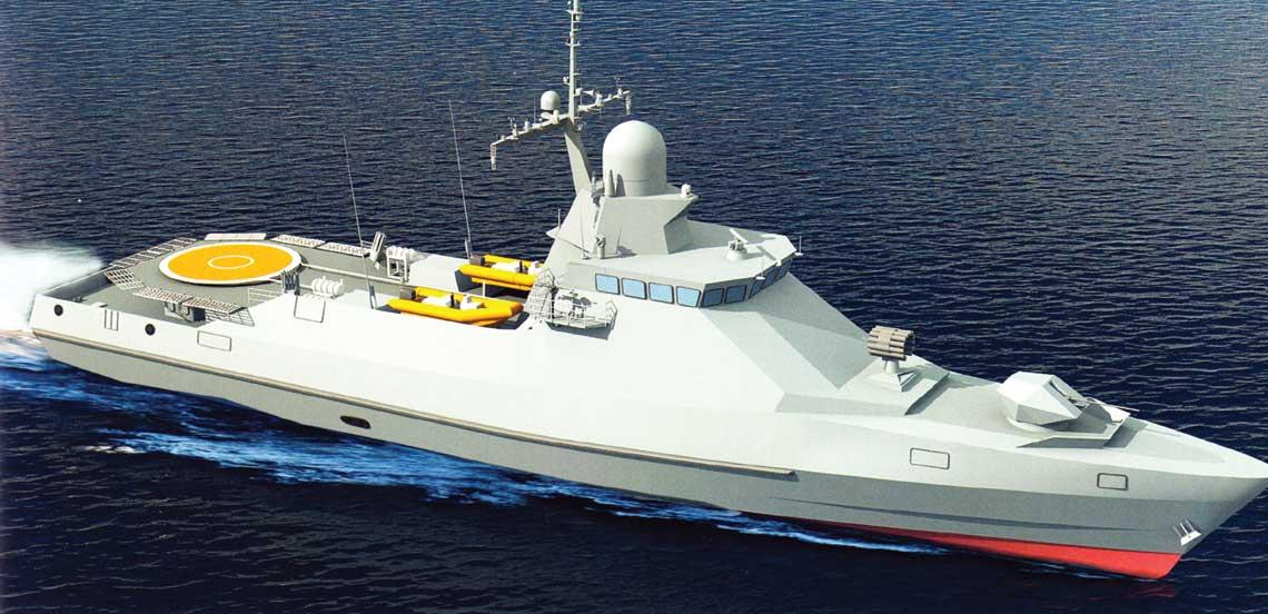 Eksportowa korweta projektu PS-500.