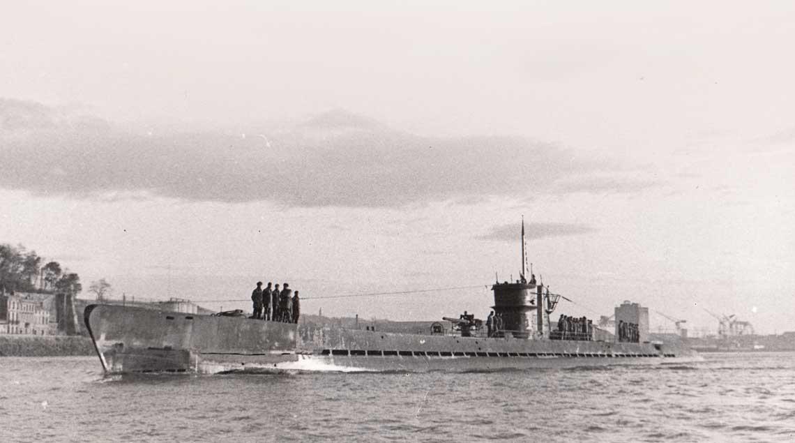 10 stycznia 1943 r., U 178 jako pierwszy niemiecki okret podwodny wchodzi do nowo utworzonej bazy U-Bootow w Bordeaux.