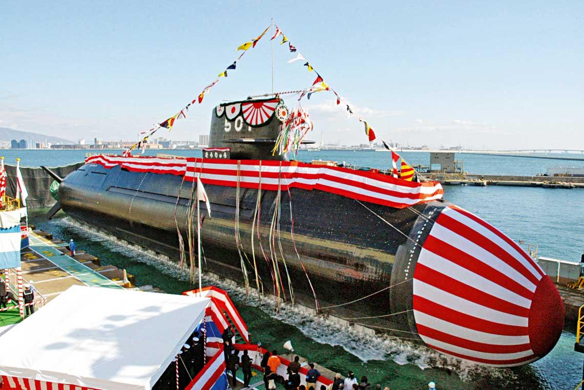 Czy zmiana polityki eksportu uzbrojenia jest wstanie uczynic zJaponii istotnego gracza na rynku okretowym? Rozbudowa rodzimej marynarki na pewno bedzie dalej napedzac rozwoj stoczni ifirm kooperujacych.