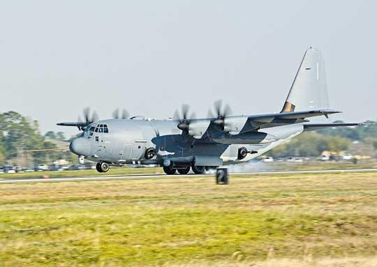 Pierwszy AC-130J Block 30 po przekazaniu USAF, maszynę czeka około rok prób operacyjnych, które mają wykazać poprawę możliwości iniezawodności względem starszych wersji.