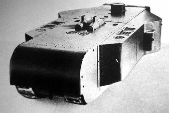 Model K-Wagena, tym razem w widoku od tyłu.