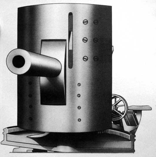 Działo 7,7 cm Sockel-Panzerwagengeschűtz, główne uzbrojenie superciężkiego czołgu Grosskampfagen cz.2