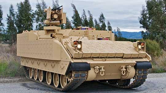 …BAE Systems ztzw. bezwieżowym Bradleyem…