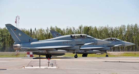 Samoloty wielozadaniowe Eurofighter, to dziś podstawowe bojowe odrzutowce niemieckiego lotnictwa wojskowego. Wkrótce ich liczba ma ulec zwiększeniu.