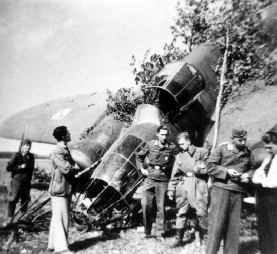 5 września Bf 110 zaatakowały w Kucinach Łosie Brygady Bombowej. Niemieckie załogi donosiły ozniszczeniu francuskich Potezów!