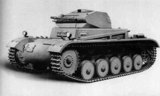 Wraz z opracowaniem wersji Ausf. c, czołg Panzer II przyjął typowy wygląd. Zrezygnowano z koncepcji zawieszenia w stylu Panzer I, wprowadzając zawieszenie z 5 dużymi kołami jezdnymi.