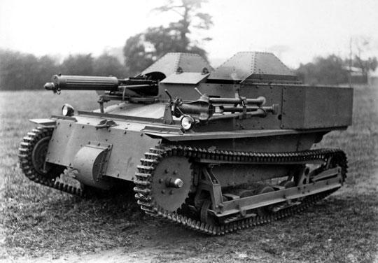 Carden-Loyd Mk VI – jako pierwsza udana tankietka stał się klasyczną konstrukcją w swojej klasie, na której wzorowali się inni.