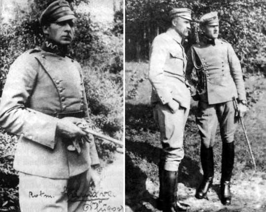 Potem został adiutantem Józefa Piłsudskiego. Od stycznia do 30 marca 1917 r. był słuchaczem Kursu Oficerów Sztabu Generalnego w Warszawie. Jako adiutant Józefa Piłsudskiego brał udział w przygotowaniu wyprawy wileńskiej w 1919 r. i kampanii kijowskiej w 1920 r.