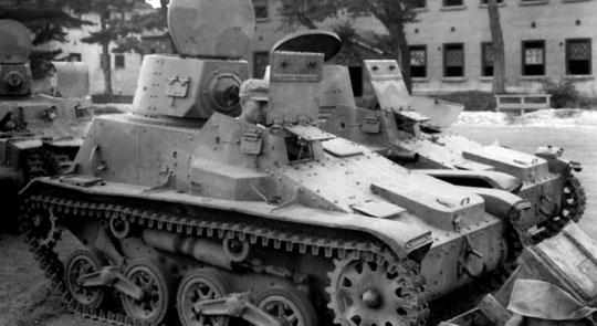 Japońska tankietka Type 94 była używana podczas wojny japońsko-chińskiej i w pierwszym okresie drugiej wojny światowej. Zastąpiona przez model Type 97 z armatą 37 mm, produkowany do 1942 r.