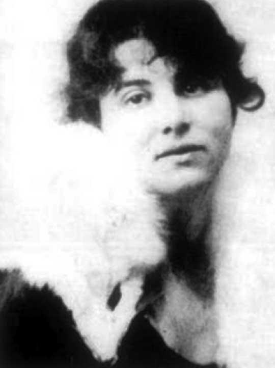 Bronisława Berenson – druga żona Bolesława (pierwszą była śpiewaczka operowa Stefania Calvas).