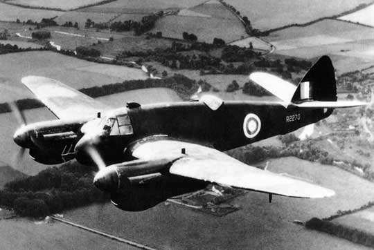 Brak dostatecznej liczby silników Bristol Hercules doprowadził do powstania przejściowego nocnego samolotu myśliwskiego Beaufighter II, wyposażonego wsilniki rzędowe Rolls-Royce Merlin XX. Zbudowano 450 myśliwców tego typu, wliczając w to trzy prototypy.