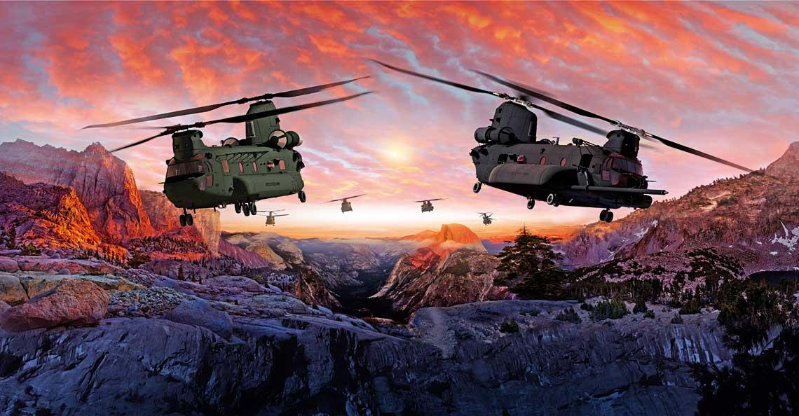 Według planów Boeinga iDepartamentu Obrony sprzed kilku lat CH-47F BlockII miały stanowić trzon floty transportowej US Army przynajmniej do połowy obecnego wieku.