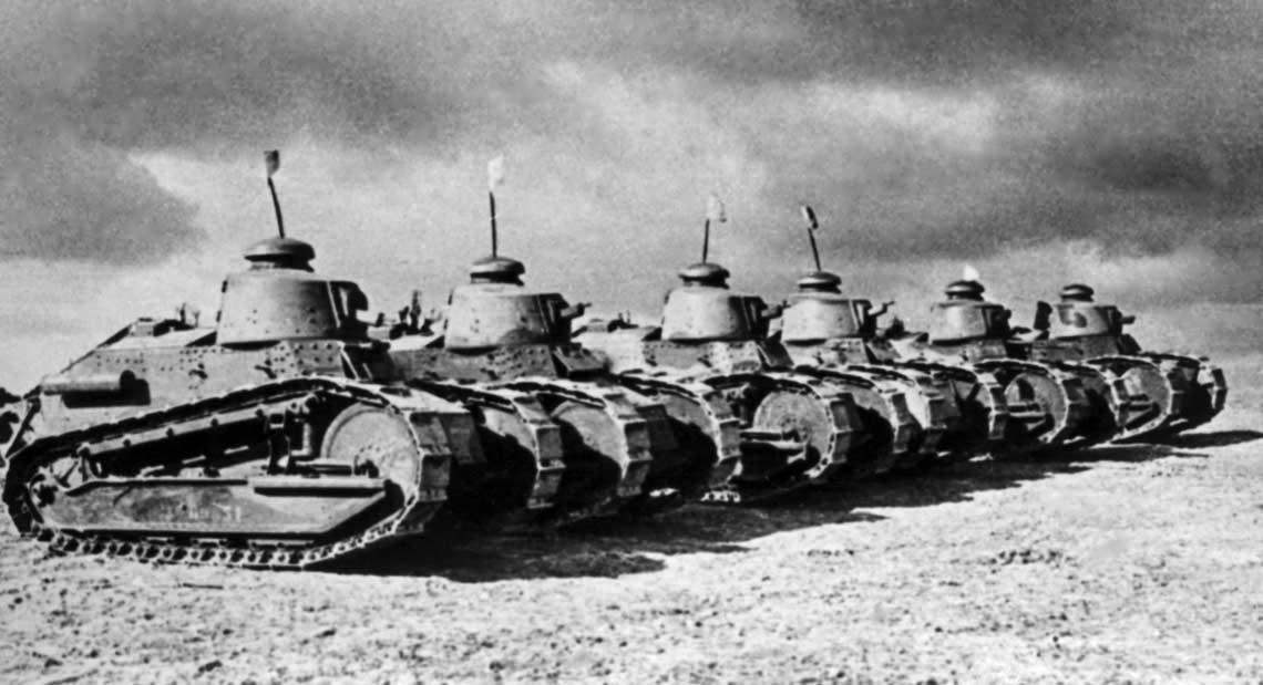 Francja 1940. Czołgi PSZ na Zachodzie