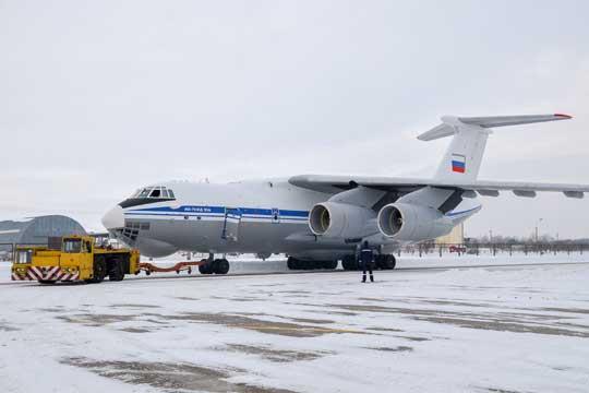 Kolejny samolot  Ił-76MD-90A  RF-78656 przekazany do 235 WTAP w maju tego roku. Iljuszyn obiecuje, że w 2019 r. przekaże wojsku  łącznie sześć