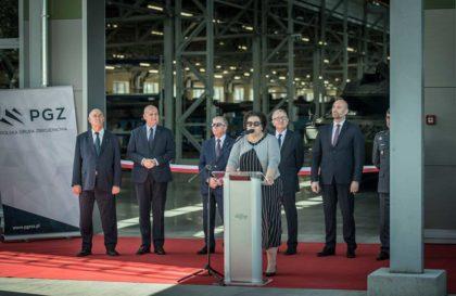 Inauguracja prac Centrum Serwisowo-Logistycznego czołgów Leopard w Poznaniu