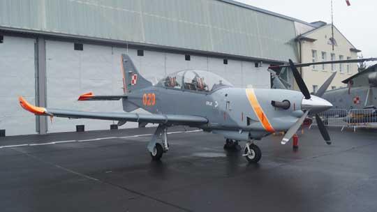 Po raz pierwszy w WZL nr 2 S.A. zaprezentowano turbośmigłowy samolot szkolenia podstawowego Airbus Defence and Space PZL-130 Orlik TC-II.