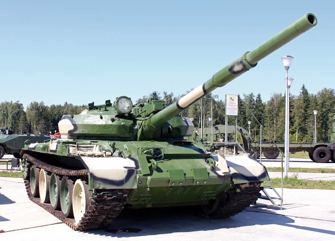 T-62M ze zbiorów rosyjskiego Muzeum Broni Pancernej wKubince.