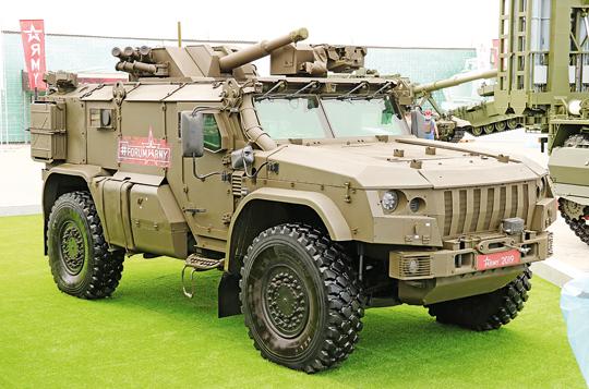 Moździerz samobieżny 2S41 Drok.