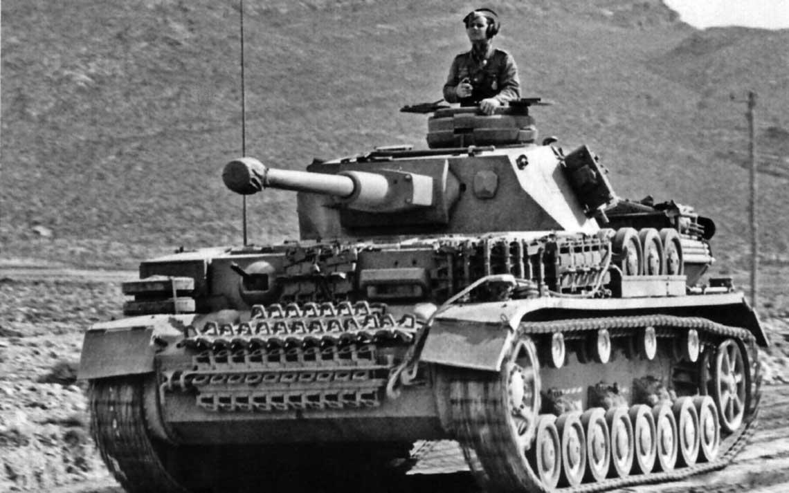 PzKpfw IV Ausf. G to najlepszy czołg, jakim kiedykolwiek dysponował DAK. Wozów tych używano od jesieni 1942 r., choć pierwsze czołgi tej wersji dotarły do Afryki Północnej w sierpniu 1942 r.