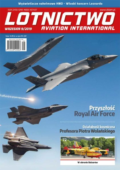 Lotnictwo Aviation International 9/2019