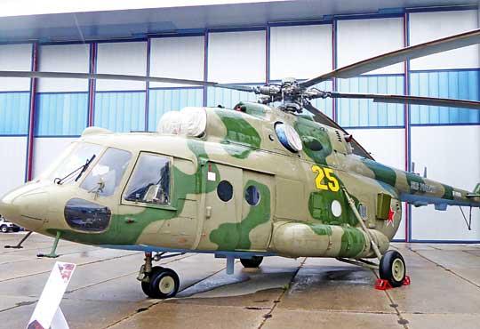 Śmigłowiec walki radioelektronicznej Mi-9MTPR-1 przyjęty na uzbrojenie w2016 r.