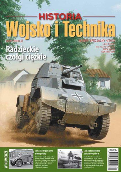 Czasopismo Wojsko i Technika Historia numer specjalny 4/2019