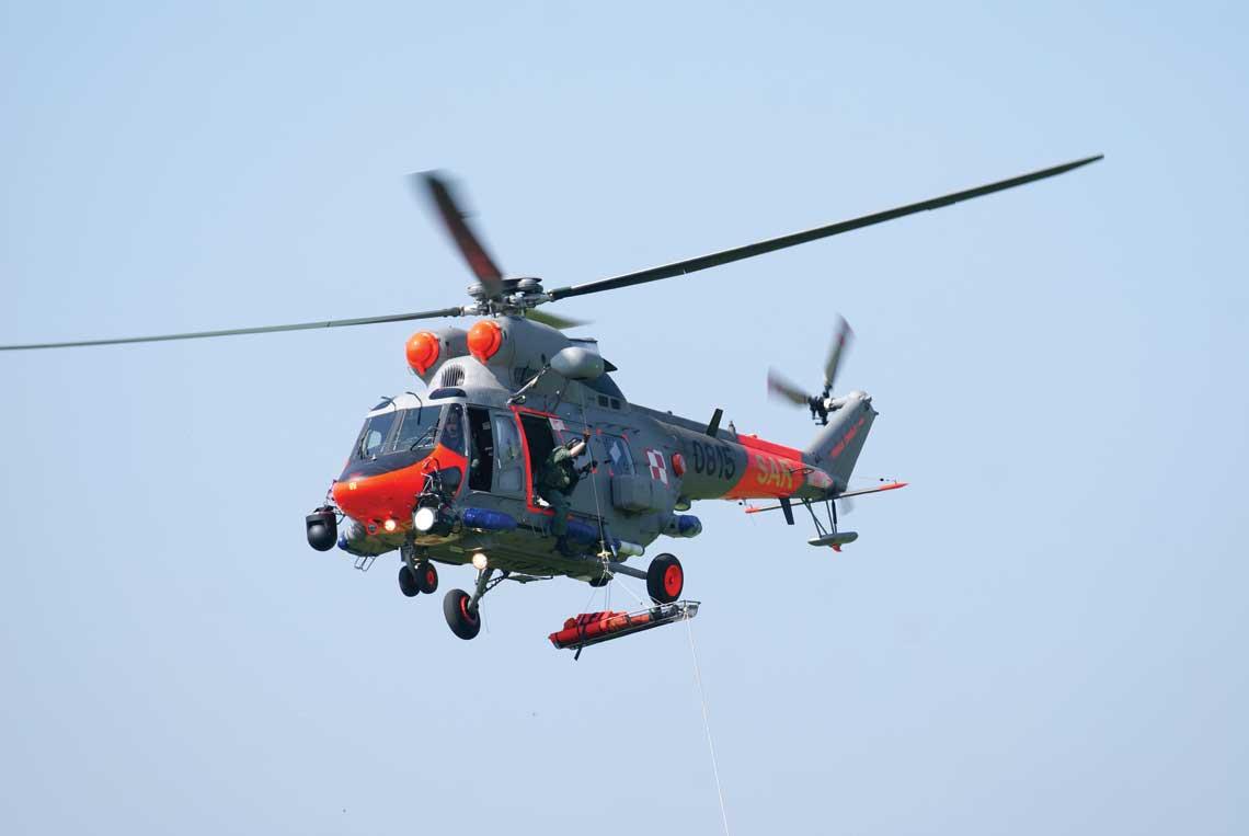 PZL-Świdnik S.A. zrealizował także modernizację ośmiu W-3 należących do BLMW, które dzięki temu będą pełnić zadania SAR przez kolejne lata, wspierając cztery AW101.
