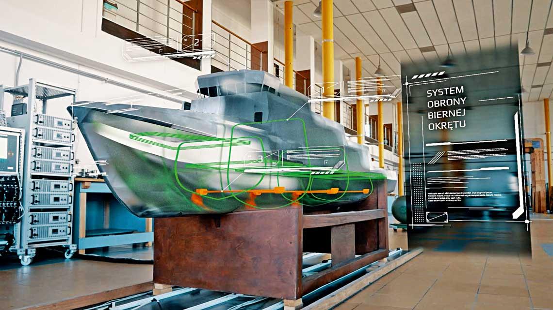 System Obrony Biernej dla okrętów obrony przeciwminowej.