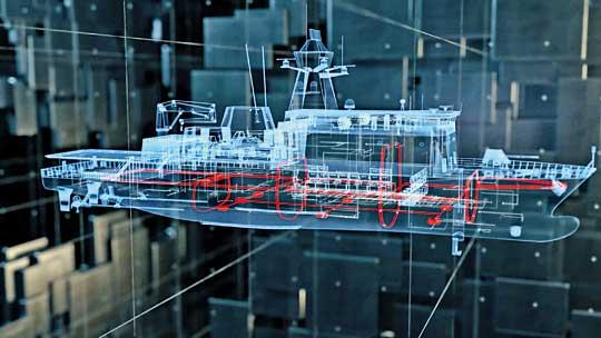 System Obrony Biernej dla okrętów uderzeniowych.