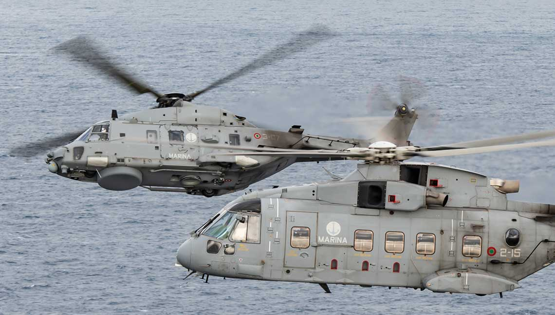Głównym zadaniem bazy w Luni jest zapewnienie wsparcia logistycznego i prowadzenie szkolenia standaryzującego dla dwóch dywizjonów śmigłowców włoskiego lotnictwa morskiego. Dodatkowo baza zabezpiecza działania śmigłowców pokładowych Sił Morskich Włoch oraz wykonujących zadania na odległych teatrach operacyjnych.