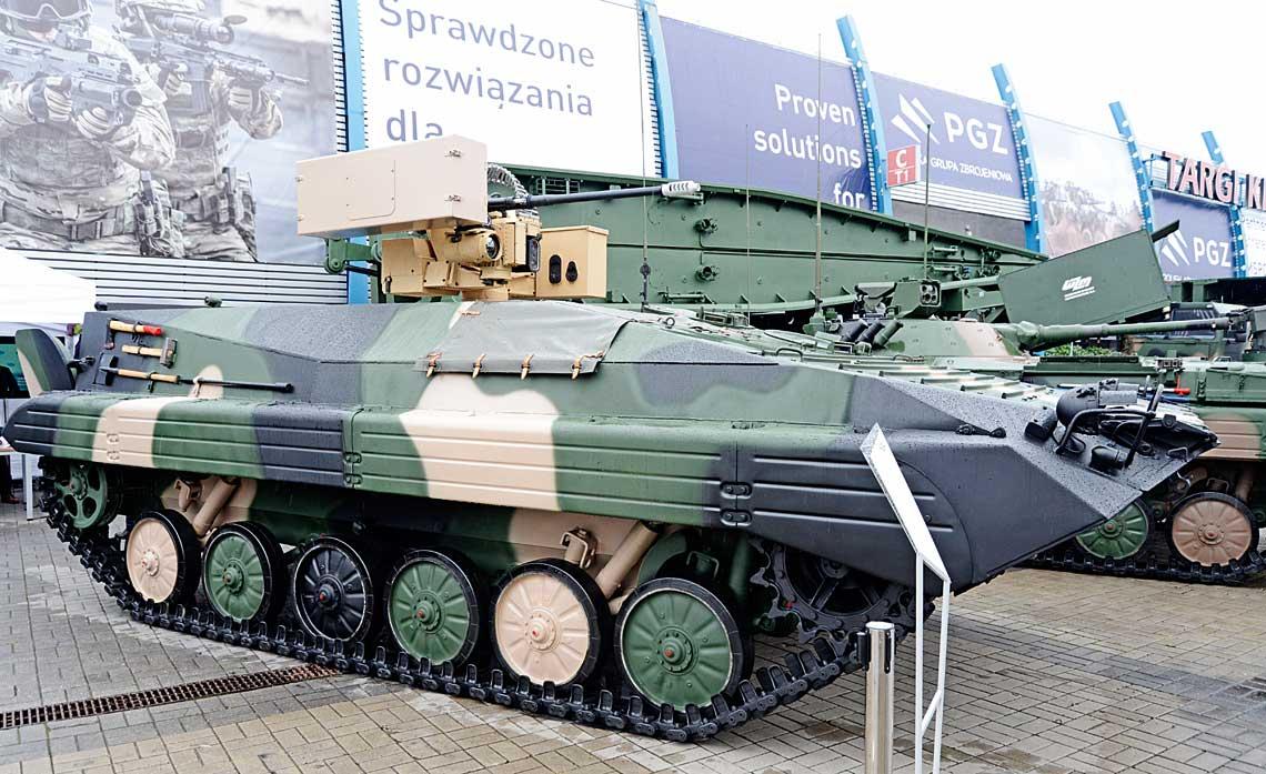 Podczas tegorocznego MSPO 2019 poznańskie Wojskowe Zakłady Motoryzacyjne S.A. zaprezentowały propozycję kompleksowej modernizacji BWP-1, chyba najciekawszą spośród zaproponowanych przez polski przemysł obronny wostatnim ćwierćwieczu.