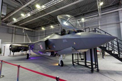 Koncern Lockheed Martin zaprezentował podczas MSPO makietę samolotu wielozadaniowego F-35A Lightning II, który jest w centrum polskiego zainteresowania wranach programu Harpia.