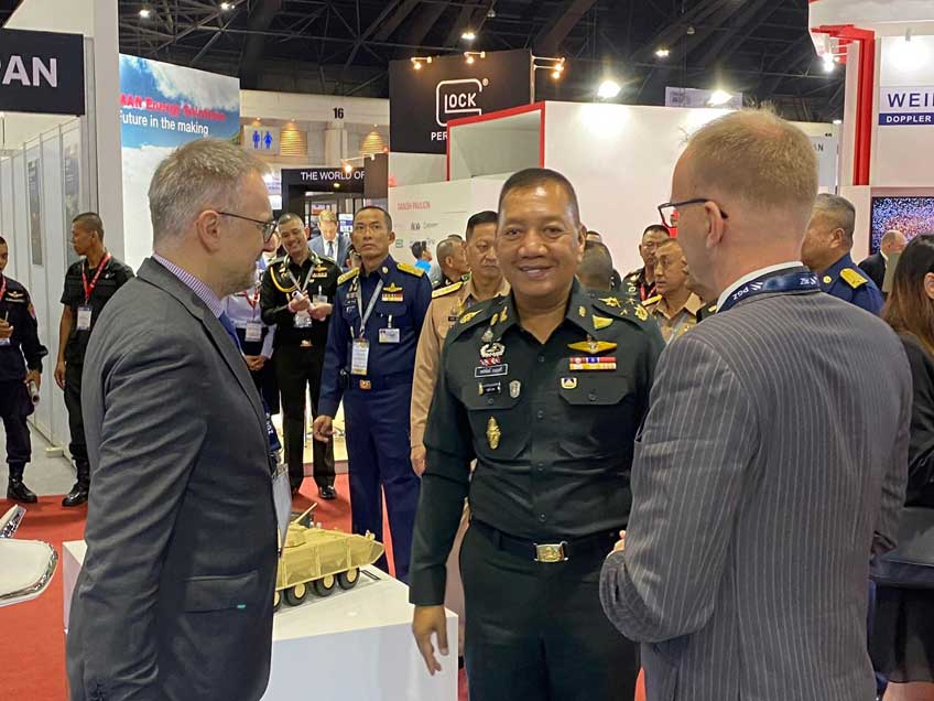 Grupa PGZ na targach Defense & Security 2019