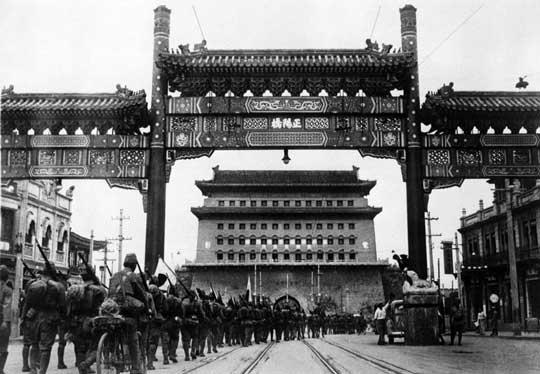 13 sierpnia 1937 r. – Japończycy wkraczają do Pekinu.