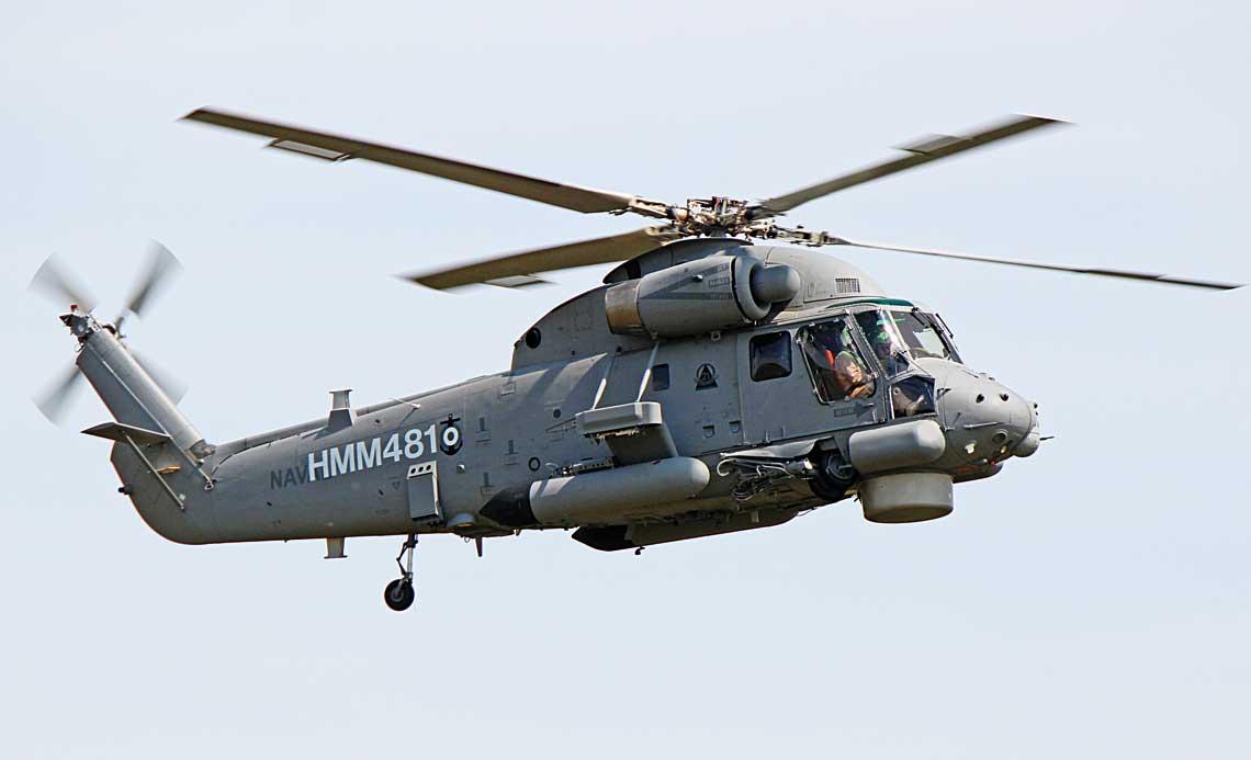 Wramach umowy zGeneral Dynamics Mission Systems Canada cztery eksnowozelandzkie maszyny przejdą gruntowną modernizację do standardu SH-2G(P2), która umożliwi ich dalszą wieloletnią eksploatację. Próby dwóch pierwszych maszyn rozpoczęto wiosną tego roku. Maszyna nosi cywilną rejestrację HMM481, na kadłubie widoczne godło Escuadrón Aeronaval N°21.