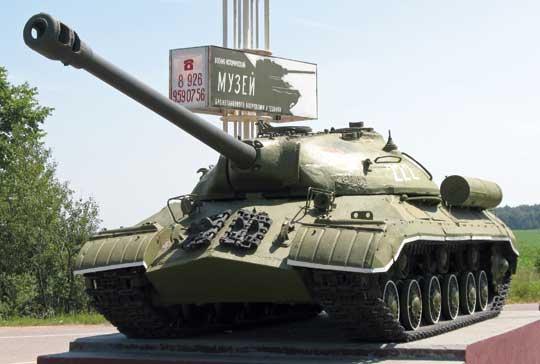 Poprzednik czołgu T-10 – czołg ciężki IS-3.