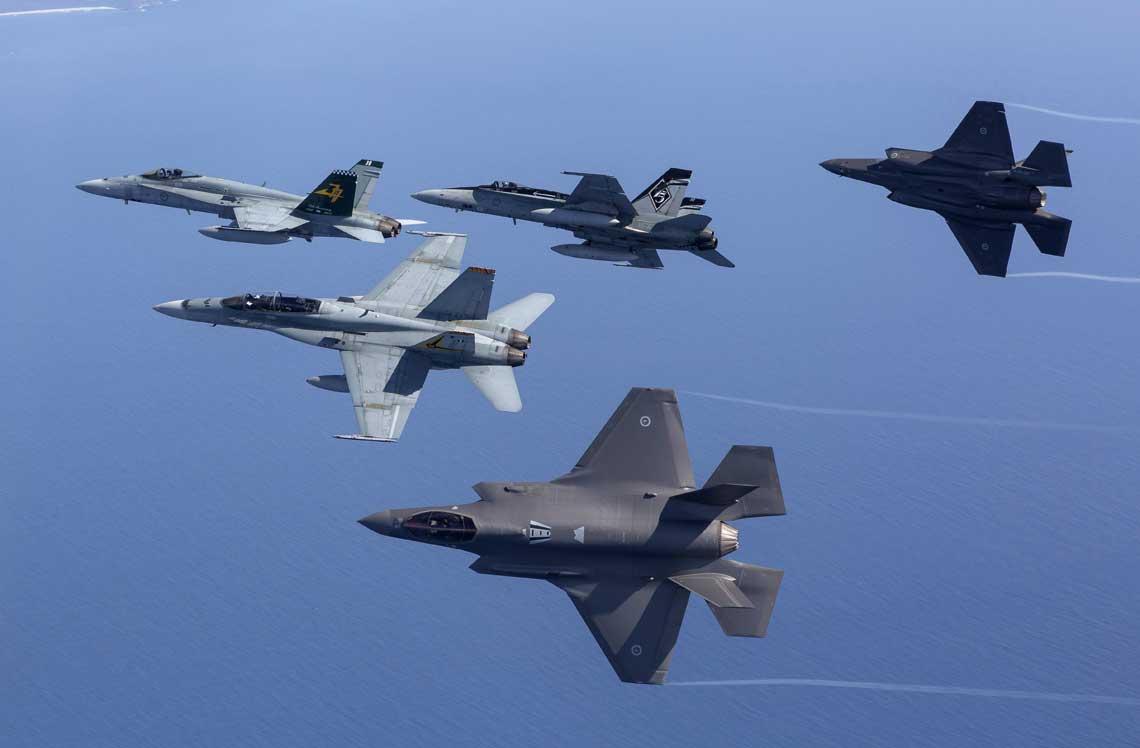 RAAF należą do jednych z najnowocześniejszych sił powietrznych na świecie, systematycznie przechodzą reorganizację i modernizację sprzętu, by jak najlepiej dostosować je do sprostania wyzwaniom XXI wieku.
