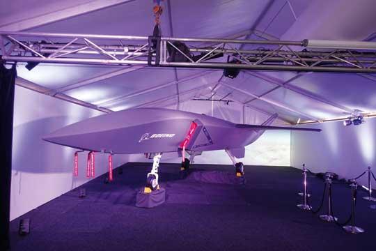 Po raz pierwszy publicznie zaprezentowano BBSP BATS w czasie Australian International Airshow (Avalon Airshow),
