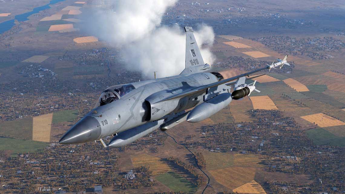 Przyszłość pakistańskiego lotnictwa bojowego, to samoloty Chengdu JF-17 Thunder opracowane w Chińskiej Republice Ludowej, ale produkowane z licencji wPakistanie.