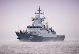 Griemiaszczij rozpoczął próby morskie na Bałtyku 21kwietnia 2019r. Po ich zakończeniu, 13listopada okręt dotarł na Północ, gdzie wykonał strzelania pociskami systemów Kalibr-NK iOniks do celów nawodnych (dwoma) ilądowego. Budowa bliźniaka jest opóźniona. Do tej pory nawet nie zwodowano jego kadłuba. Dalsze korwety powstają – wPetersburgu iKomsomolsku nad Amurem – już według ulepszonego projeku 20380, wktórym zostaną wykorzystane na mniejszą skalę rozwiązania stworzone wprogramie rozwojowym 20385.