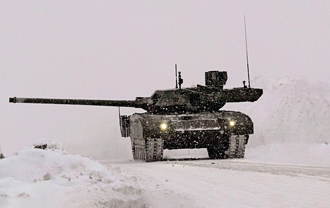 Rosyjski T-14, opracowany wramach programu Armata, jest obecnie jedynym czołgiem podstawowym na świecie należącym do umownej 4.generacji. Jego przyszłość jest jednak nadal mglista inie wiadomo, kiedy wozy te będą mogły trafić do jednostek liniowych.
