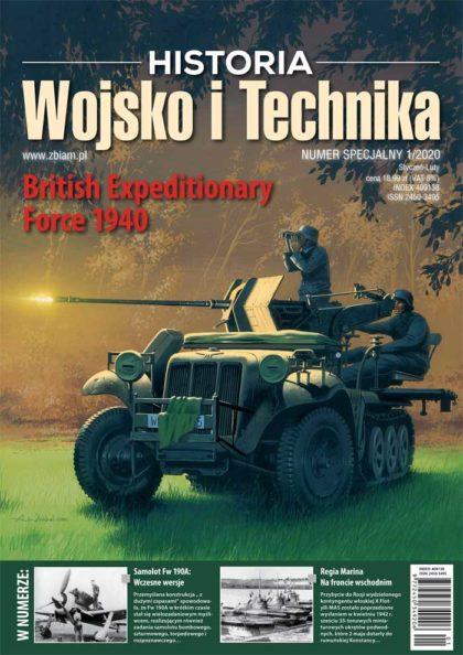 Czasopismo Wojsko i Technika Historia numer specjalny 1/2020