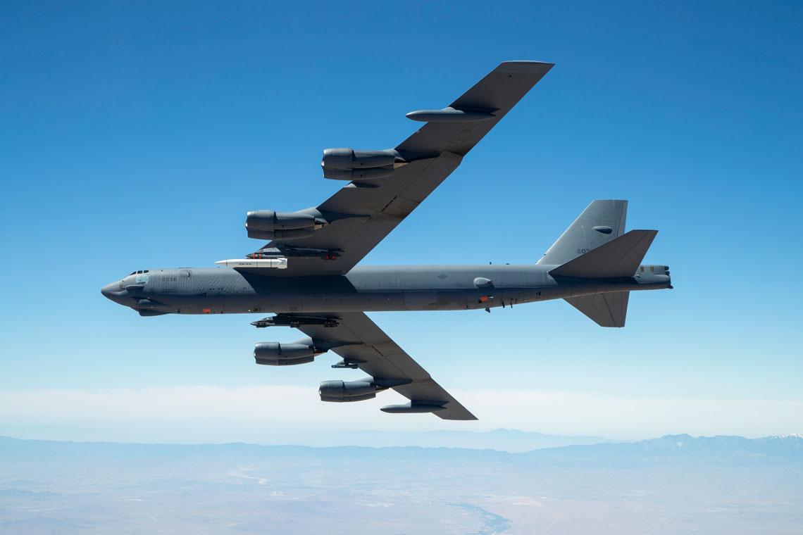 """W wyniku programu ARRW ma powstać hipersoniczny pocisk """"powietrze-ziemia"""" dalekiego zasięgu AGM-183A, który wpierwszej kolejności ma wejść na uzbrojenie bombowców B-52H."""