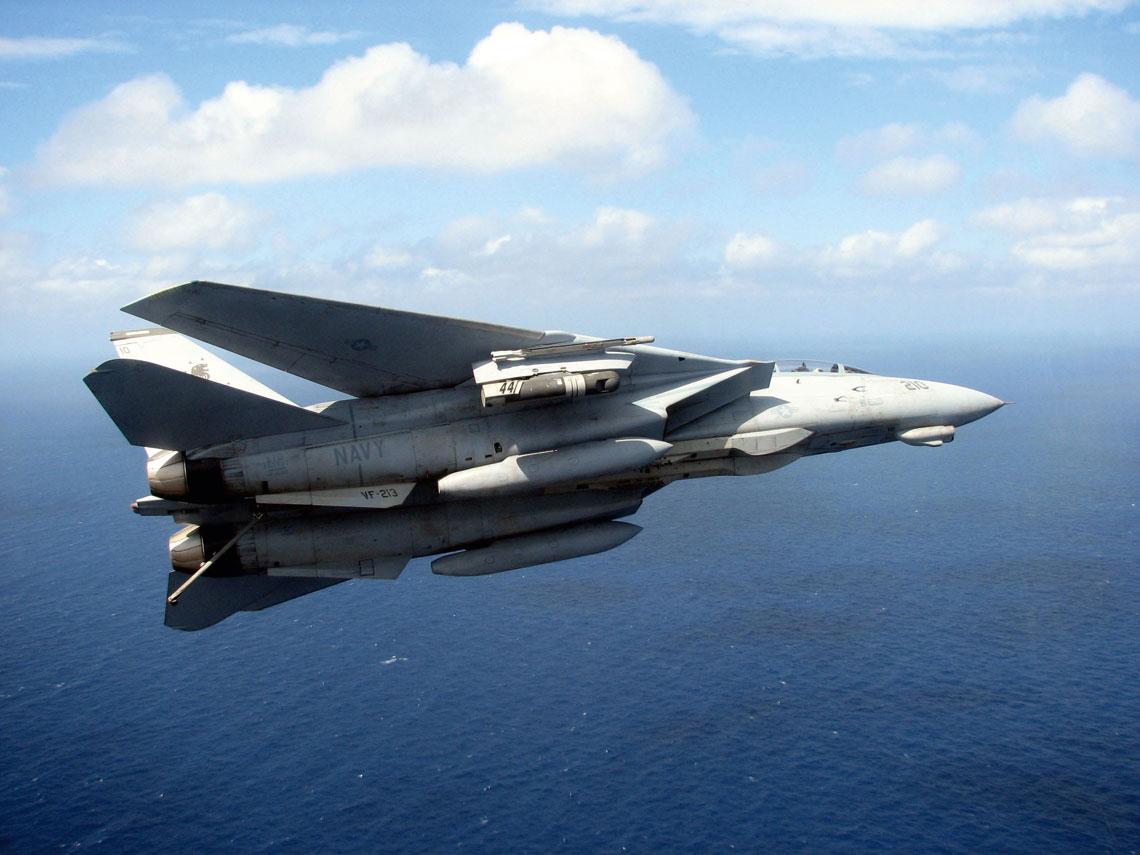 W listopadzie 1994r. na kontynuowanie eksperymentu z systemem nawigacyjno-celowniczym LANTIRN dla samolotu F-14 Tomcat zgodę wydał dowódca sił lotniczych Floty Atlantyku wiceadmirał Richard Allen.