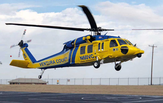 Hrabstwo Ventura zakupiło trzy śmigłowce HH-60L Black Hawk, dwa zostaną przebudowane na wersję S-70 Firehawk, trzeci zaś stanie się źródłem części zamiennych dla nich.