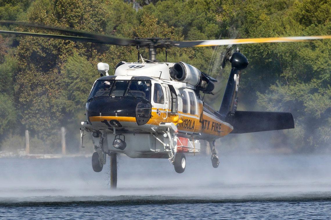 Pierwsze S-70i Firehawk w służbie
