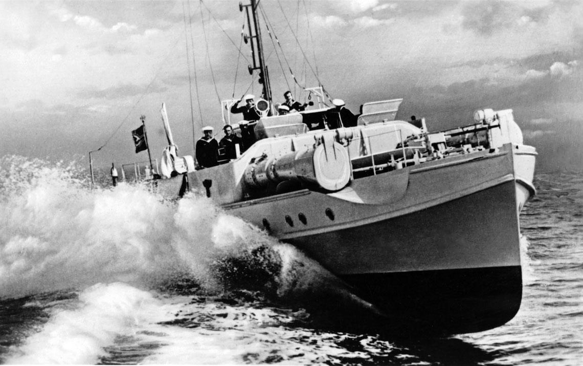 Schnellbooty: ścigacze torpedowe Kriegsmarine