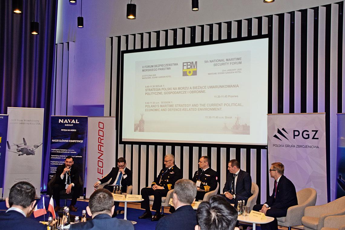 Tegoroczne Forum Bezpieczeństwa Morskiego Państwa rozpoczęła dyskusja o strategii morskiej Polski wkontekście wyzwań politycznych, wojskowych i gospodarczych.